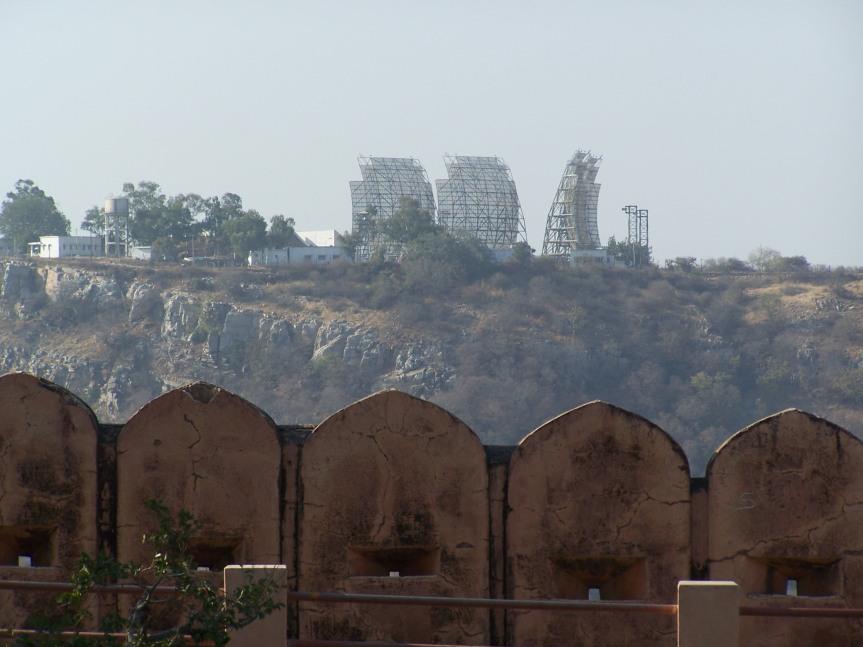 IAF radars adjacent to Jaigarh